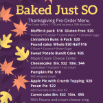 Place Your Thanksgiving Order Early and Get a Great Discount!